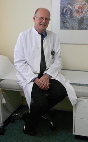 Dr med Volker Naser